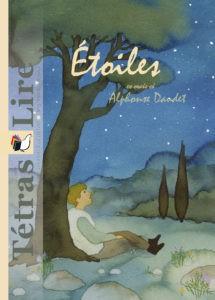 Les étoiles, nouvelle d'Alphonse Daudet, illustrée par Marie Flusin