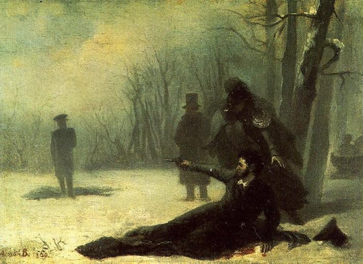Le duel entre Pouchkine et son beau frère - biographie auteur russe écrivain