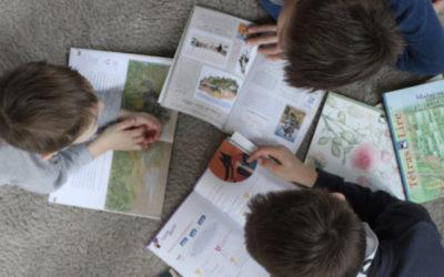 Un challenge de lecture en famille