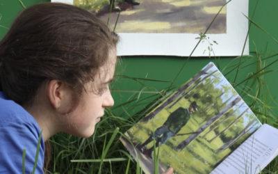 Lire des histoires de nature