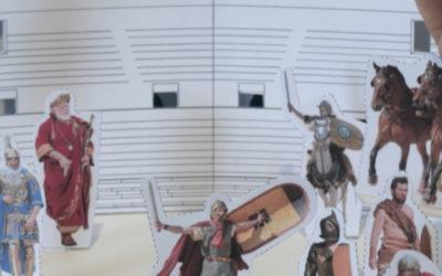 Construire une maquette des arènes de Nîmes