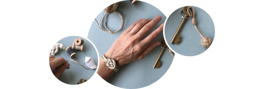 Fabriquer un bracelet marin