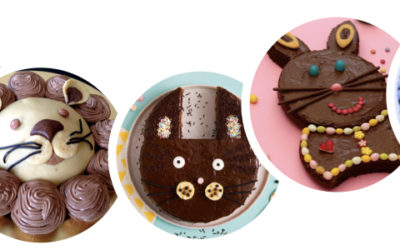 Des gâteaux en forme d'animaux