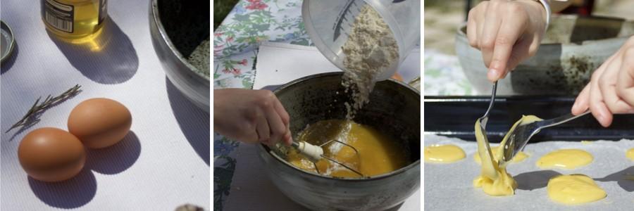 La recette des petits palets de la Durance