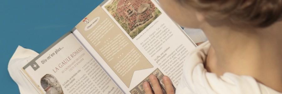 Lire des histoires de romains et de gaulois