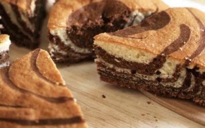 La recette du gâteau marbré du Tétras
