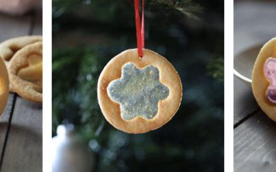 La recette des sablés de Noël en forme de vitraux