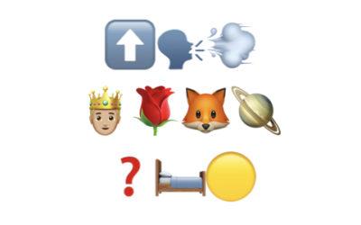 Romans en emoji