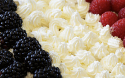 La tarte bleu blanc rouge